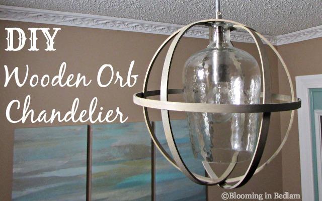 Diy wooden orb chandelier aloadofball Images